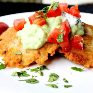 Tex Mex Potato Latkes