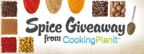 Cooking Planit Spices Winner!!