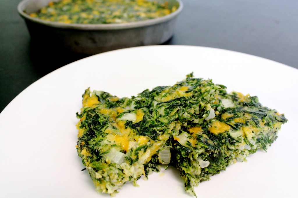 spinach square